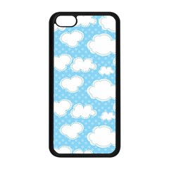 Cloud Blue Sky Apple Iphone 5c Seamless Case (black)
