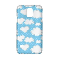 Cloud Blue Sky Samsung Galaxy S5 Hardshell Case  by AnjaniArt