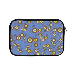 Circle Purple Yellow Apple Ipad Mini Zipper Cases by AnjaniArt