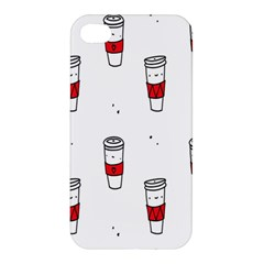 Coffee Cup Glass Apple Iphone 4/4s Hardshell Case