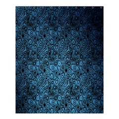 Blue Texture Shower Curtain 60  X 72  (medium)