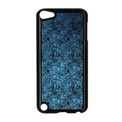 Blue Texture Apple Ipod Touch 5 Case (black)