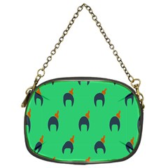 Comb Disco Green Chain Purses (one Side)