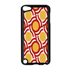 Circle Orange Red Apple Ipod Touch 5 Case (black) by AnjaniArt