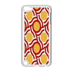 Circle Orange Red Apple Ipod Touch 5 Case (white)