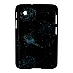 Decoboom Engraved Pickguard Space Saturnus Samsung Galaxy Tab 2 (7 ) P3100 Hardshell Case  by AnjaniArt