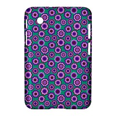 Clipart Floral Pattern Flower Purple Green Samsung Galaxy Tab 2 (7 ) P3100 Hardshell Case  by AnjaniArt