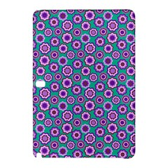 Clipart Floral Pattern Flower Purple Green Samsung Galaxy Tab Pro 10 1 Hardshell Case