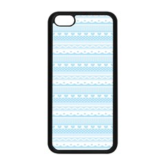 Estampas Pinterest Nautical Digital Scrapbooking Wallpaper Apple Iphone 5c Seamless Case (black)