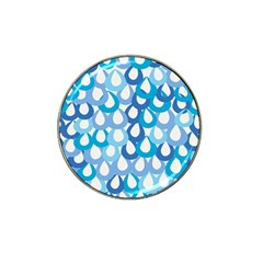Fabrics Lucienne Blue Water Hat Clip Ball Marker (10 Pack)