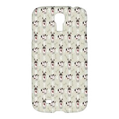 Face Dok Bone Numberpink Animals Samsung Galaxy S4 I9500/i9505 Hardshell Case