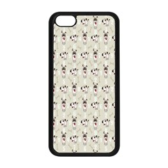 Face Dok Bone Numberpink Animals Apple Iphone 5c Seamless Case (black)