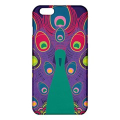 Colorful Peacock Line Iphone 6 Plus/6s Plus Tpu Case by AnjaniArt