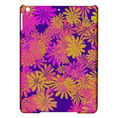 Floral Pattern Purple Rose Ipad Air Hardshell Cases