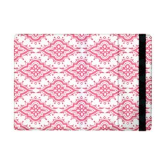 Flower Floral Pink Leafe Ipad Mini 2 Flip Cases by AnjaniArt