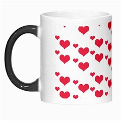 Heart Love Pink Valentine Day Morph Mugs by AnjaniArt