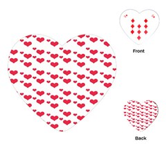 Heart Love Pink Valentine Day Playing Cards (heart)