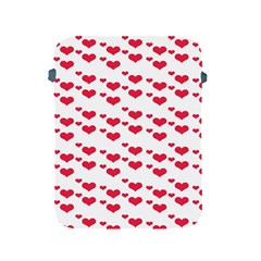 Heart Love Pink Valentine Day Apple Ipad 2/3/4 Protective Soft Cases by AnjaniArt