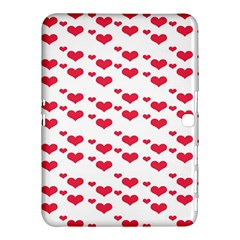 Heart Love Pink Valentine Day Samsung Galaxy Tab 4 (10 1 ) Hardshell Case  by AnjaniArt