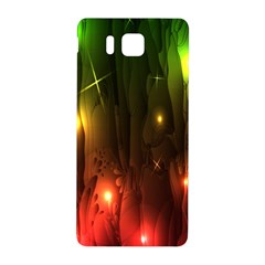 Fractal Manipulations Raw Flower Colored Samsung Galaxy Alpha Hardshell Back Case