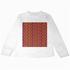 Heart Love Valentine Day Kids Long Sleeve T Shirts