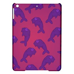 Fluffy Stuffie Animals Purple Pink Ipad Air Hardshell Cases by AnjaniArt