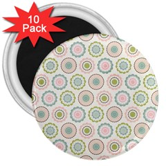 Motieven On Pinterest Laminas Para Decoupage Wallpapers Scrapbooking Flower 3  Magnets (10 Pack)  by AnjaniArt