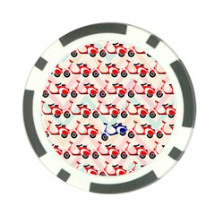 Motorcycle Poker Chip Card Guard