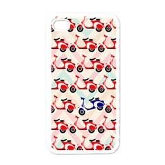 Motorcycle Apple Iphone 4 Case (white)