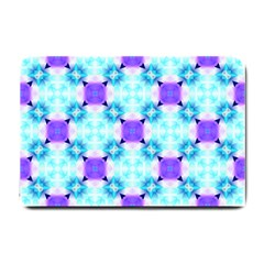 Background Colour Flower Rainbow Small Doormat