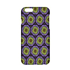Background Colour Star Flower Purple Yellow Apple Iphone 6/6s Hardshell Case