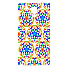 Background Colour Circle Rainbow Galaxy Note 4 Back Case by AnjaniArt
