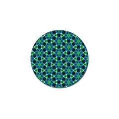 Background Star Colour Green Blue Golf Ball Marker (10 Pack)