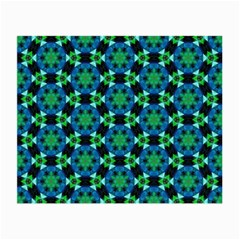 Background Star Colour Green Blue Small Glasses Cloth