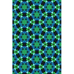 Background Star Colour Green Blue 5 5  X 8 5  Notebooks by AnjaniArt