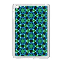 Background Star Colour Green Blue Apple Ipad Mini Case (white) by AnjaniArt