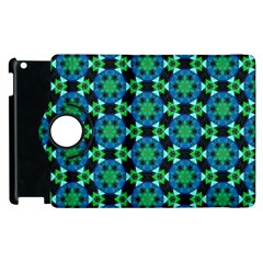 Background Star Colour Green Blue Apple Ipad 3/4 Flip 360 Case by AnjaniArt