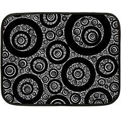 Selected Figures From The Paper Circle Black Hole Double Sided Fleece Blanket (mini)