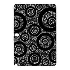 Selected Figures From The Paper Circle Black Hole Samsung Galaxy Tab Pro 12 2 Hardshell Case by AnjaniArt