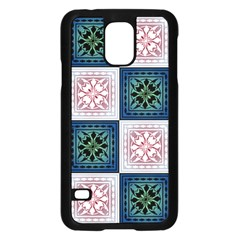 Background Colour Flower Box Samsung Galaxy S5 Case (black) by AnjaniArt