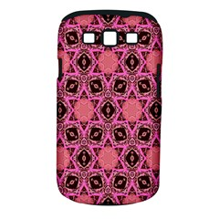 Background Colour Star Pink Flower Samsung Galaxy S Iii Classic Hardshell Case (pc+silicone)