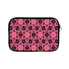 Background Colour Star Pink Flower Apple Ipad Mini Zipper Cases by AnjaniArt
