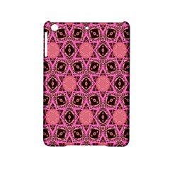 Background Colour Star Pink Flower Ipad Mini 2 Hardshell Cases