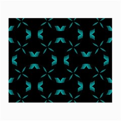 Background Wave Blue Small Glasses Cloth (2 Side)