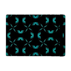 Background Wave Blue Apple Ipad Mini Flip Case by AnjaniArt
