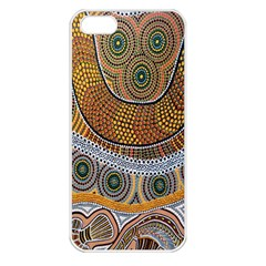 Batik Apple Iphone 5 Seamless Case (white) by AnjaniArt