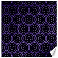 Background Colour Purple Circle Canvas 12  X 12   by AnjaniArt