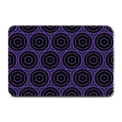 Background Colour Purple Circle Plate Mats by AnjaniArt