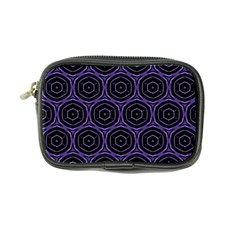 Background Colour Purple Circle Coin Purse by AnjaniArt