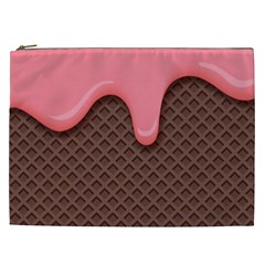 Ice Cream Cosmetic Bag (xxl)  by Brittlevirginclothing